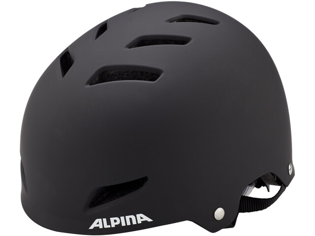 Alpina Park Jr. Helmet Barn black matt